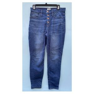 J Crew Lookout High Rise Skinny Jeans